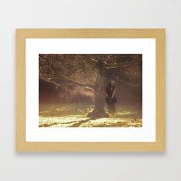 Shades. Lily 1 Framed Art Print