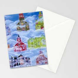 Heavenly Churches Stationery Cards