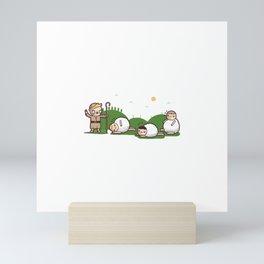 Sheeple Mini Art Print