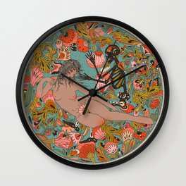 Laying on a Memory Wall Clock