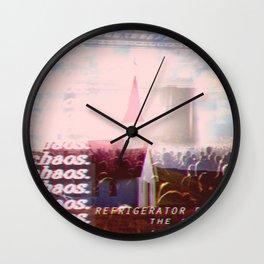 Imaginary Bands: Refrigerator Rabbit Wall Clock