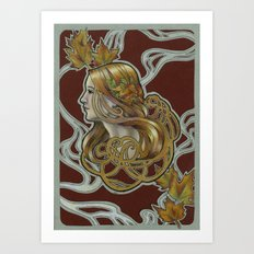Autumn Winds Art Print
