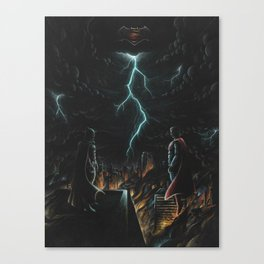 War of Man Canvas Print