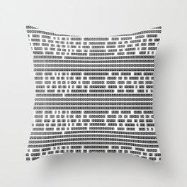 [ ||| ] Throw Pillow
