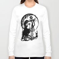 nightmare before christmas Long Sleeve T-shirts featuring A Nightmare Before Christmas by iankingart