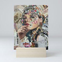 saving face Mini Art Print