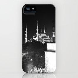 Istabul, Turkey: Hagia Sophia at Night iPhone Case