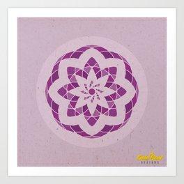 Crown Chakra Mandala Art Print