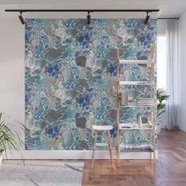 Ocean Flow (Original Abstract Acrylic Painting) Wall Mural