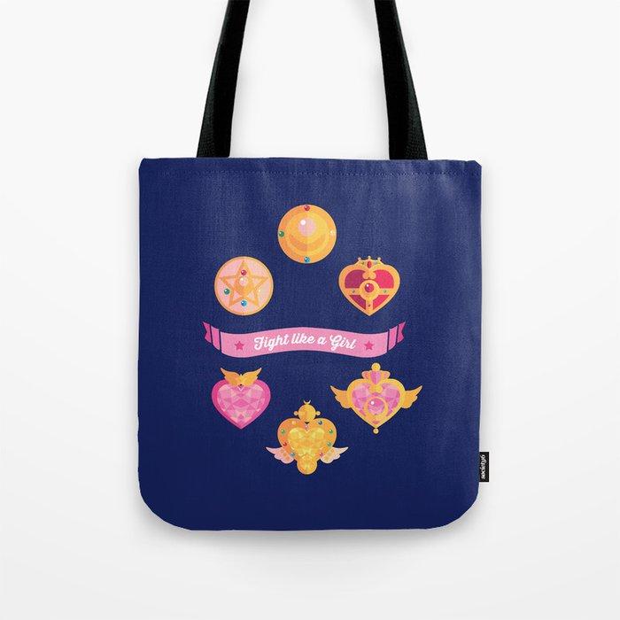 Fight Like A (Magical) Girl Tote Bag