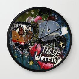Those Were The Days Wall Clock