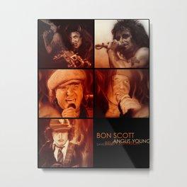 'AC/DC Mosaic II' Metal Print