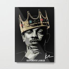 Kendrick Lamar poster Metal Print