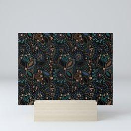 Scattering of beads . 2 Mini Art Print