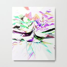 Daily Design 97 - Shangri-La Metal Print
