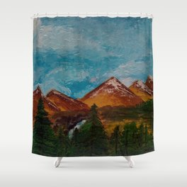 Paisaje Shower Curtain