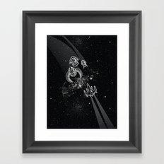 Intergalactic Pest Control Framed Art Print