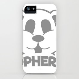 Gopher It! iPhone Case