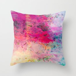 Untitled Abstract Mix Throw Pillow