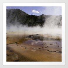 Yellowstone Art Print