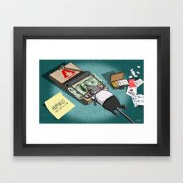 The Rat Trap Framed Art Print