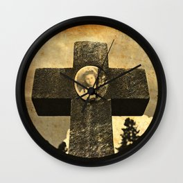 Jennie's cross Wall Clock