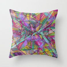 COLOR WINTER MOOD Throw Pillow