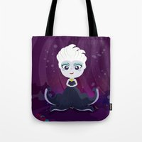 ursula Tote Bags featuring Ursula  by Loud & Quiet