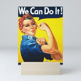 We can do it! Mini Art Print