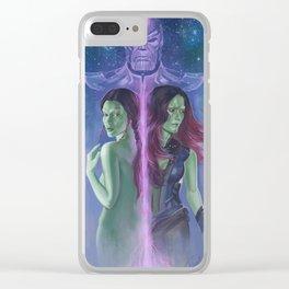 Gamora Clear iPhone Case