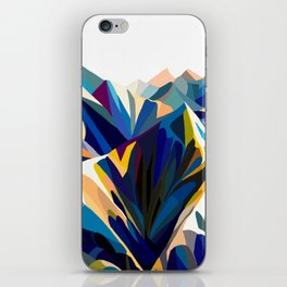 Mountains cold iPhone Skin