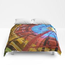 wheel of colour Comforters
