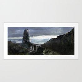 Rock kingdom Art Print
