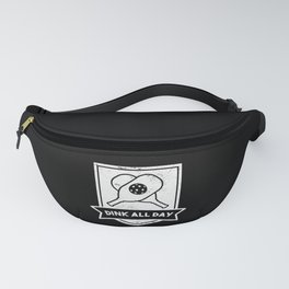Dink All Day Funny Pickleball Gift Fanny Pack