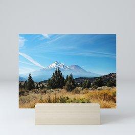 Mt. Shasta Mini Art Print