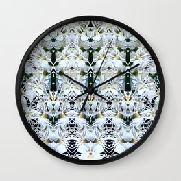 WHITE WEDDING Wall Clock
