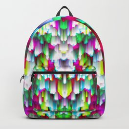 Colorful digital art splashing G396 Backpack