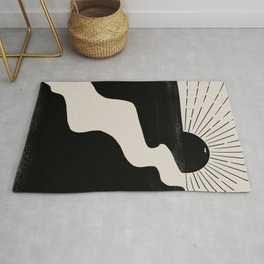 Abstract Landcape Rug