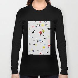 painted terrazzo 1 Long Sleeve T-shirt