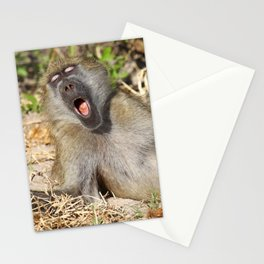 Just sooooo tired - Africa wildlife Stationery Cards