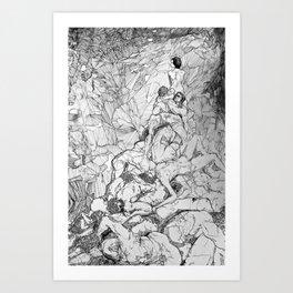 Still Life After the Apocalypse Art Print