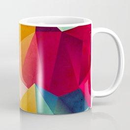 geometric color mountains Coffee Mug