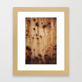 Rust at it's best Framed Art Print