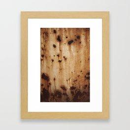 Rust at it's best Framed Art Print