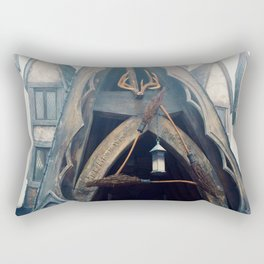 The Three Broomsticks Rectangular Pillow