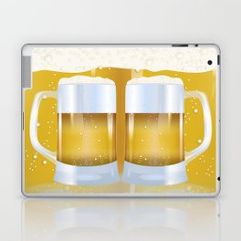 illustration of beer glass, Beer Laptop & iPad Skin
