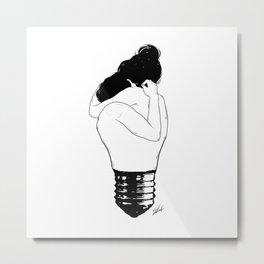 Lights up. Metal Print