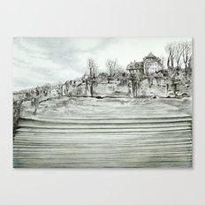 City layers Canvas Print