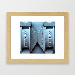 Bell Cover Framed Art Print