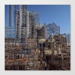 Urbania city Canvas Print